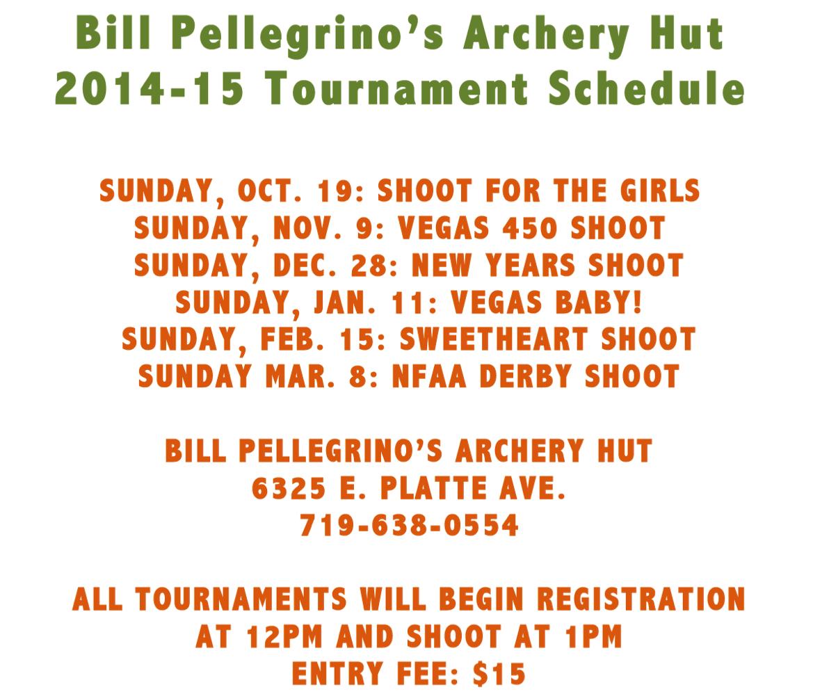 Tournament-Schedule